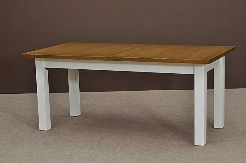 Biały Stół Rozkładany Do Kuchni Jadalni Lub Salonu Salon