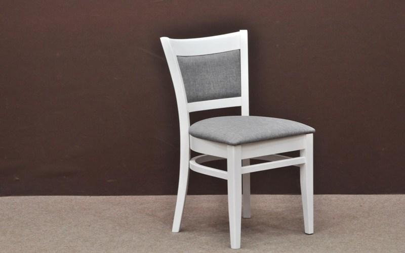 Krzesło Drewniane As1 Białe Batdompl