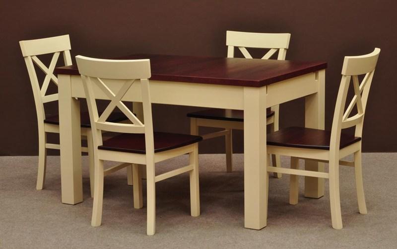 Zestaw stół i krzesła ZT155 | Salon meblowy BatDom